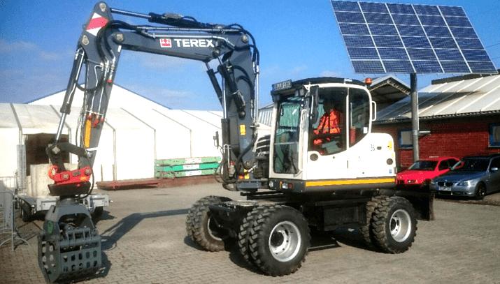 Baubetriebshof Soest – TEREX TW85