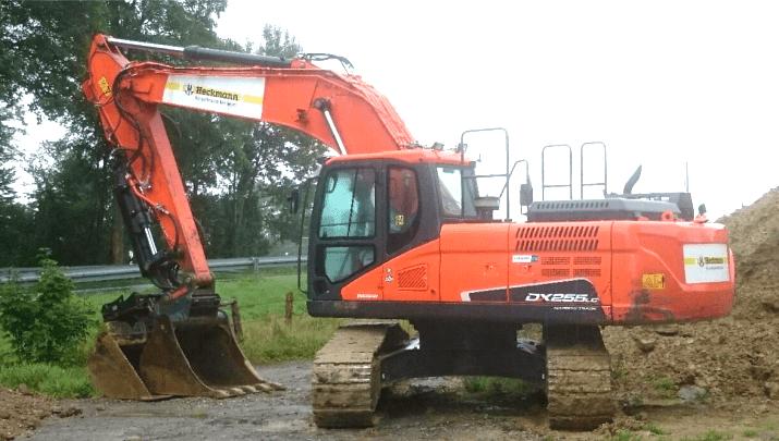 Heckmann Bau GmbH & Co. KG – DOOSAN DX255LC-5