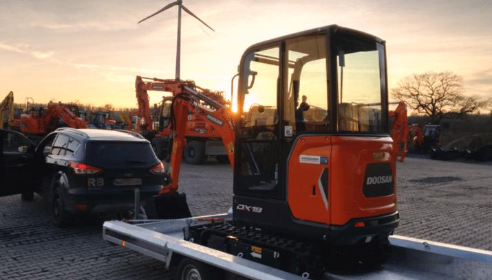 Ralf Büscher Bauunternehmen – DOOSAN DX19
