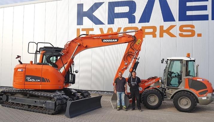 Sascha Borowski und Joachim Borowski – DOOSAN DX140LCR und WEYCOR AR 65E