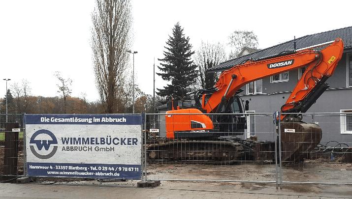 Wimmelbücker Abbruch GmbH – DOOSAN DX235LCR-5