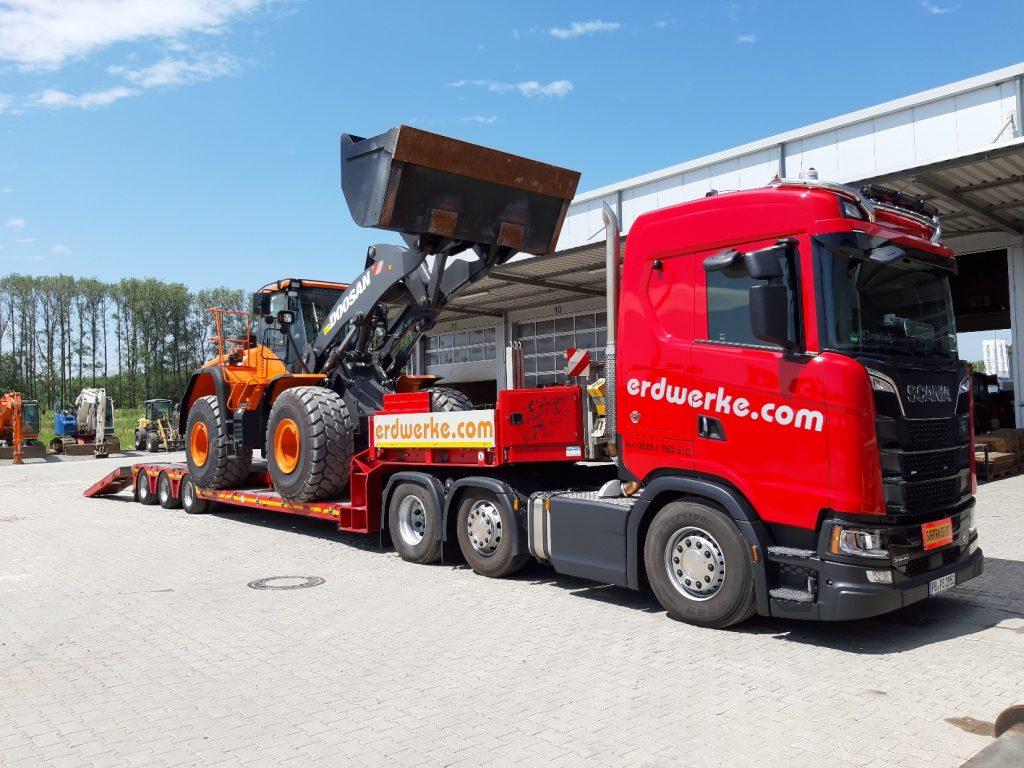Erdwerke GmbH – DOOSAN DL420CVT-5